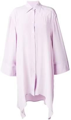 Faith Connexion oversized asymmetric shirt