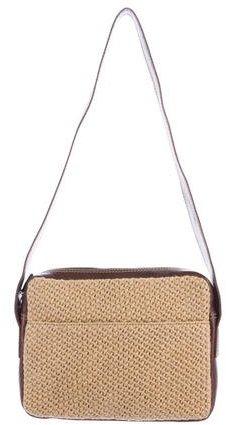 Bottega VenetaBottega Veneta Leather-Trimmed Shoulder Bag