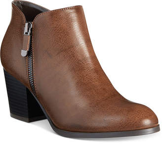 Style&Co. Style & Co Masrinaa Ankle Booties, Created for Macy's
