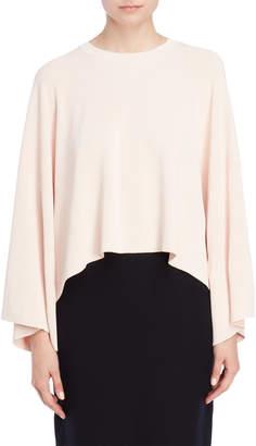 Jil Sander Pastel Pink Draped Sweater