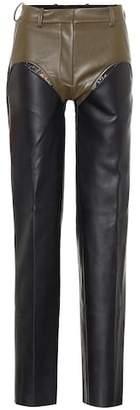 Y/Project Faux leather pants