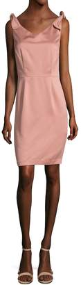 Ava & Aiden Women's Off The Shoulder Bow Sheath Dress