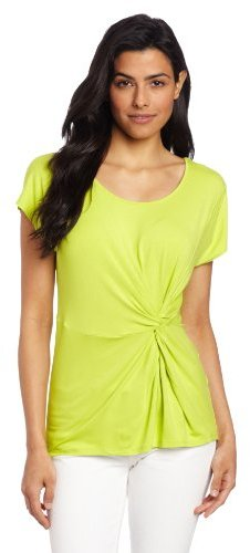 Chaus Women's Twist Front Top
