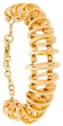 Alberta Ferretti bead and hoop bracelet