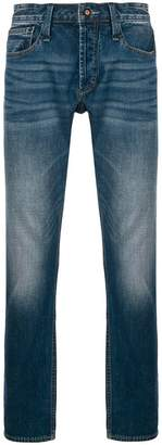 Denham Jeans mid rise slightly washed jeans