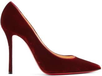 Christian Louboutin Decoltish 110 velvet pumps