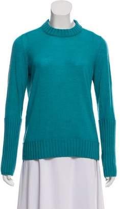 Fendi Long Sleeve Wool Sweater