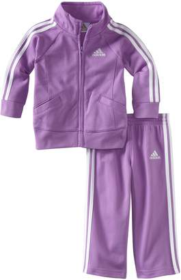 adidas Baby-Girls Infant Core Tricot Set