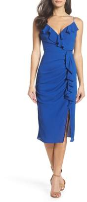 Cooper St Camilla Frill Sheath Dress