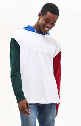 PacSun Stevey Hooded Oversized Long Sleeve T-Shirt