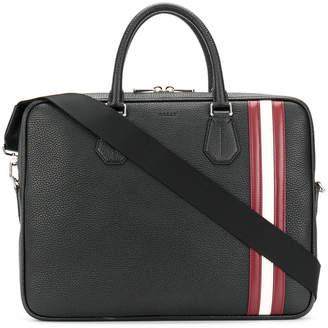 Bally laptop bag with Stripe trim