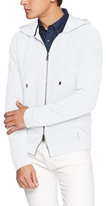 Armani Exchange A X Men's Long Sleeve Cardigan Sweater with Zipper