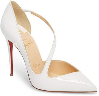 Christian Louboutin Strappy Half d'Orsay Pump