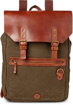 Timberland Olive Nantasket Laptop Backpack