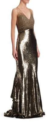 Ahluwalia Anna Sequin Mermaid Gown