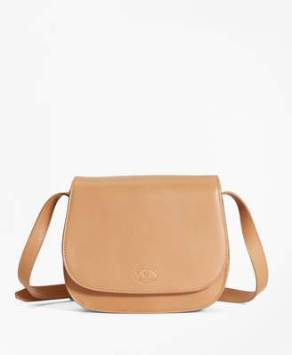 Brooks Brothers Leather Viola Saddlebag
