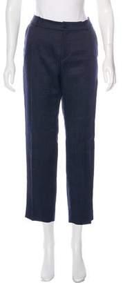 Bouchra Jarrar Tweed Straight-Leg Pants