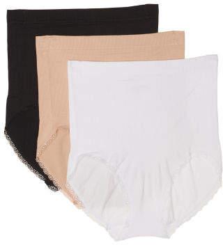 3pk Seamless High Waisted Shaping Shorts