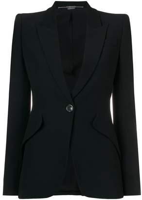 Alexander McQueen structured blazer