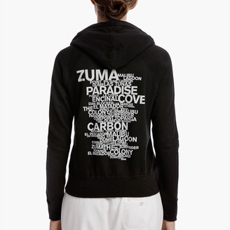 James Perse MALIBU BEACH GRAPHIC HOODIE