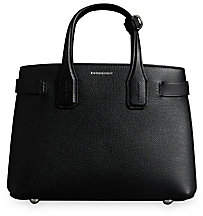 Burberry Women's Small Banner Leather Satchel