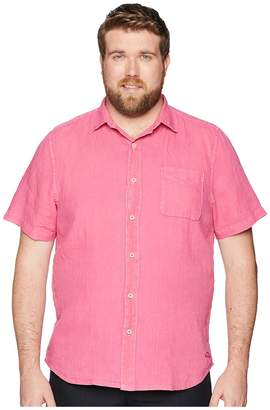 Tommy Bahama Big Tall Sea Glass Breezer Short Sleeve Shirt Men's Short Sleeve Button Up