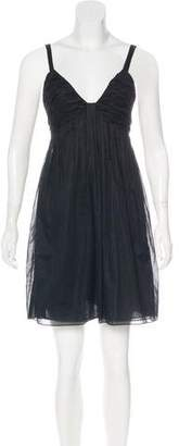 Prada Mini Pleated Dress