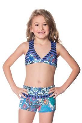 Maaji Swimwear Sherbet Blueberry Shorts