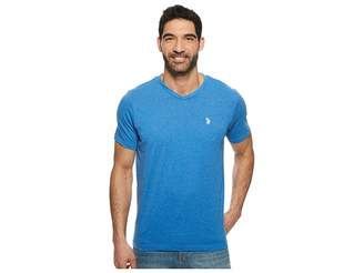U.S. Polo Assn. V-Neck Short Sleeve T-Shirt Men's Short Sleeve Pullover