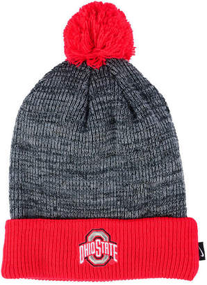 Nike Ohio State Buckeyes Heather Pom Knit Hat
