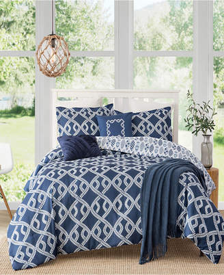 Caribbean Joe Cathay Home Inc. Aruba 4-Piece Full Comforter Set Bedding