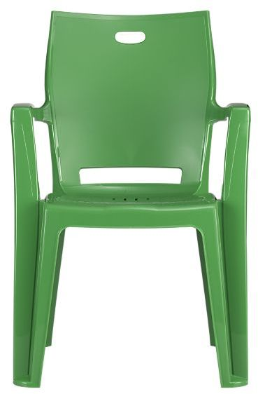 Backyard Green Stacking Chair