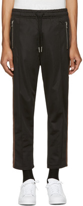 Diesel Black P-Newton Lounge Pants $150 thestylecure.com