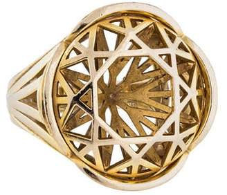 Solange Azagury-Partridge 18K Skeleton Ring