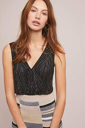 Ranna Gill Sortir Beaded Petite Top