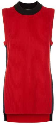 Burberry Cable Knit Sweater Vest