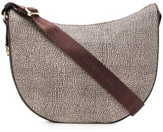 Borbonese printed hobo shoulder bag
