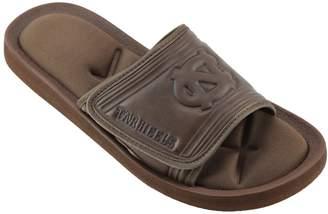 NCAA Kohl's Men's North Carolina Tar Heels Memory Foam Slide Sandals