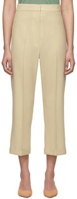 Jacquemus Beige Le Pantalon Sabbia Trousers