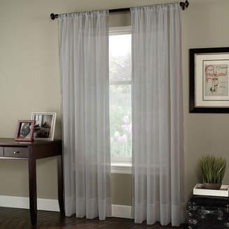 CHF Soho Poletop Sheer Rod-Pocket Curtain Panel