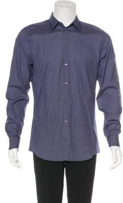 Dolce & Gabbana Polka Dot Woven Shirt