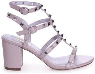006f11a0cf03 Linzi TESSA - Purple Studded Block Heeled Sandal