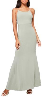 Women's Missguided Slinky Maxi Dress $62 thestylecure.com
