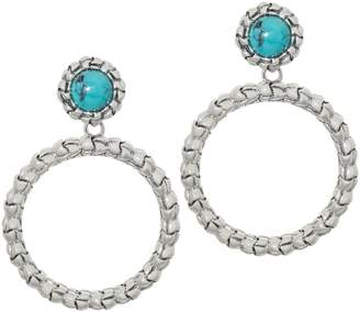 bd660843e Tiffany & Co. Kay Studio Sterling Silver Purl Removable Hoop Earrings