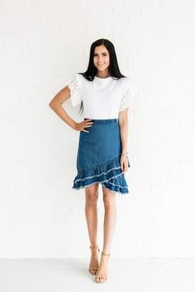Everyday ShopRachel Parcell Fun in the Sun Denim Skirt