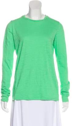Raey Solid Long Sleeve Top
