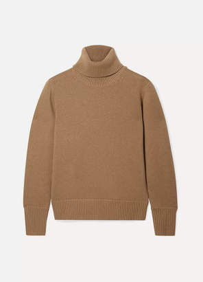 Burberry Cashmere Turtleneck Sweater - Camel