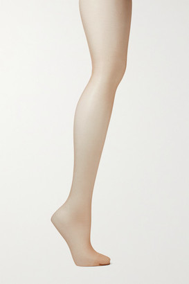 Wolford Nude 8 Denier Tights - Sand