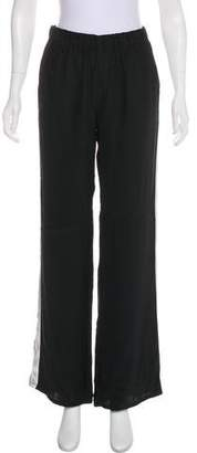 Piamita Silk High-Rise Pants