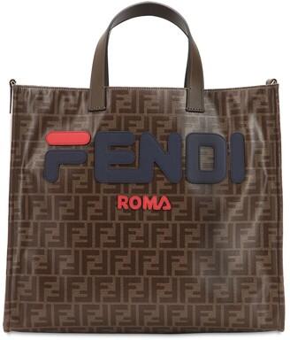 Fendi Mania Small Coated Canvas Tote Bag